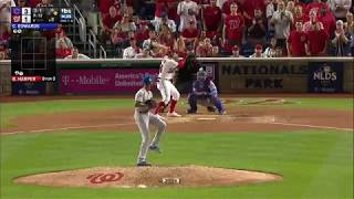 Bryce Harper Hits MAMMOTH Two-Run Home Run to Tie Game 3-3 in 8th - Cubs v Nationals
