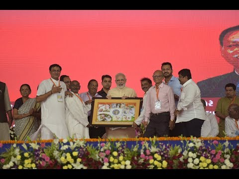 PM Modi at Sahakar Sammelan in  Amreli, Gujarat