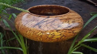 Re-Re-Created spalted oak bowl