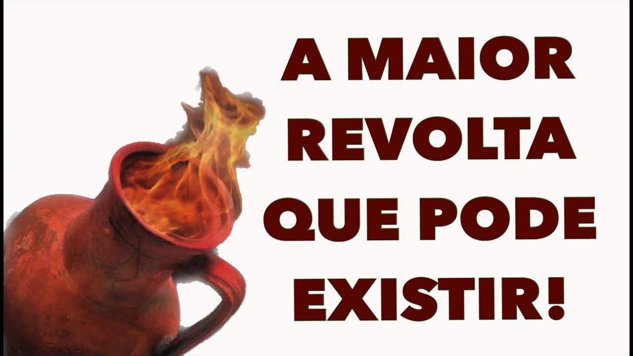 A MAIOR REVOLTA QUE PODE EXISTIR! | PR.FLAVIO DINIZ - PREGAÇÃO.