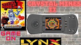 ATARI LYNX CRYSTAL MIΝES II I LONGPLAY
