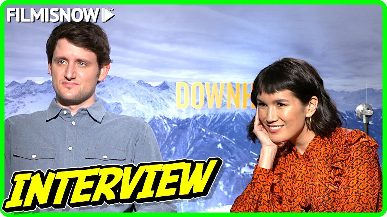Zach Woods & Zoe Chao Interview for DOWNHILL