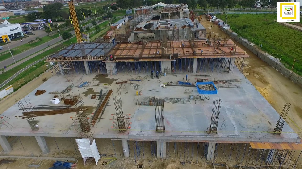 Avance proceso constructivo centro comercial casablanca for Centro comercial sol madrid