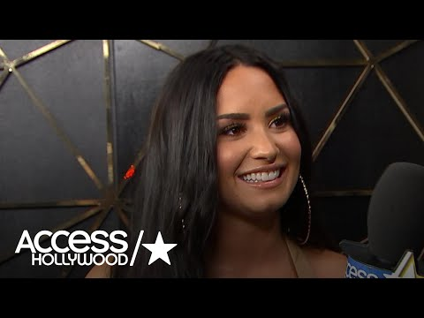 Demi Lovato On Wearing That Wedding Dress For 'Tell Me You Love Me' | Access Hollywood