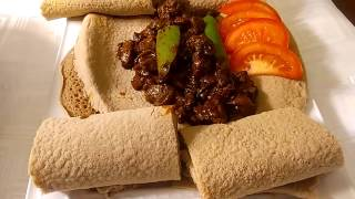 How to make Qey Wote (Ethiopian Food)