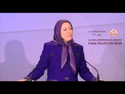 Maryam Rajavi's Speech at conference with British MPs