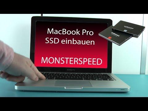 MacBookPro mit MonsterSpeed SSD nachrüsten