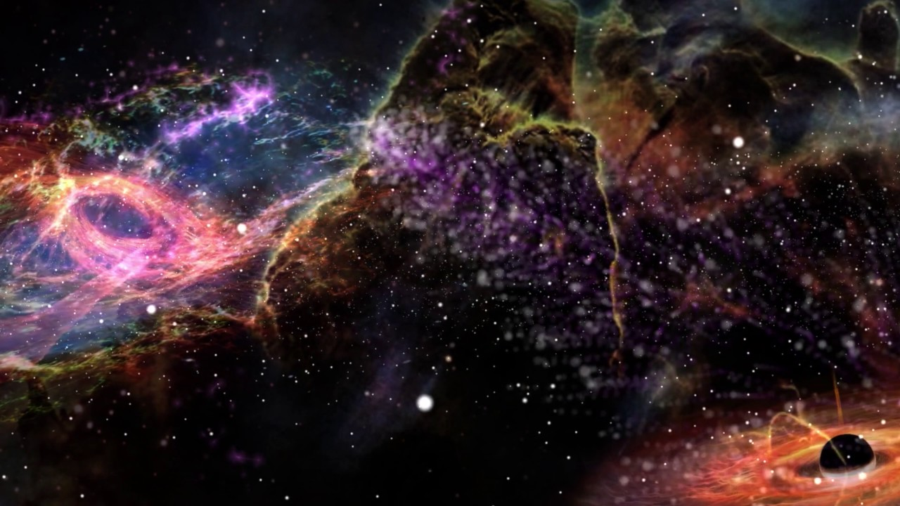 A Whole Galaxy In The Universe K Relaxing Screensaver
