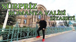 ROMANYA VALİSİNİ MAKAMINDA ZİYARET