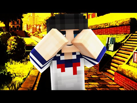 Yandere Middle School - HIDE AND SEEK! (Minecraft Roleplay) #15