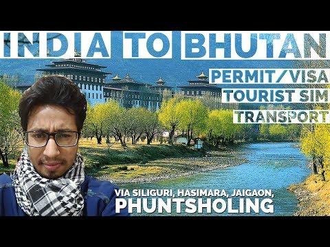 #My First Experience of Bhutan(भूटान देश) #Travelling to Bhutan via Siliguri, Hasimara #Budget tour