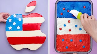 Fancy Independence Day Inspired Cake Recipes  So Tasty Cake Decoration Tutorials  So Yummy