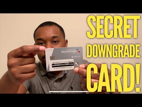 Barclay AA World Elite MasterCard: SECRET DOWNGRADE PATH!