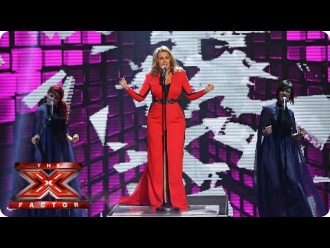 Sam Bailey sings Bleeding Love by Leona Lewis - Live Week 7 - The X Factor 2013