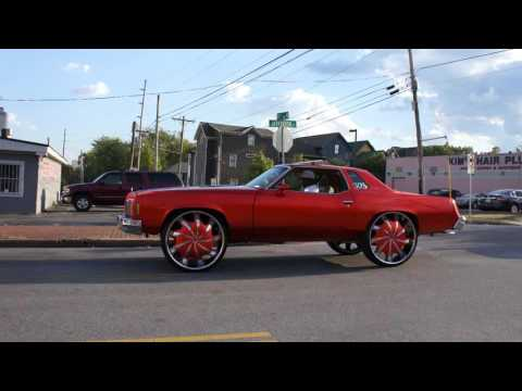 Derrick's Candy Orange 77' Pontiac Grand Prix on 30