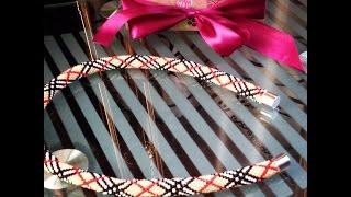 Мастер класс по вязанию бисерного жгута Burberry на 12 бисерин. Часть 1