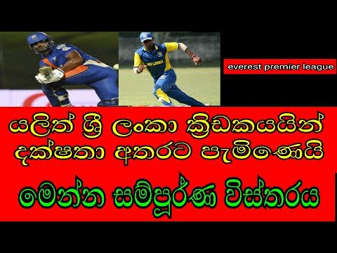 Sri lanka cricket news today | Everest Premier League latest cricket news today sinhala