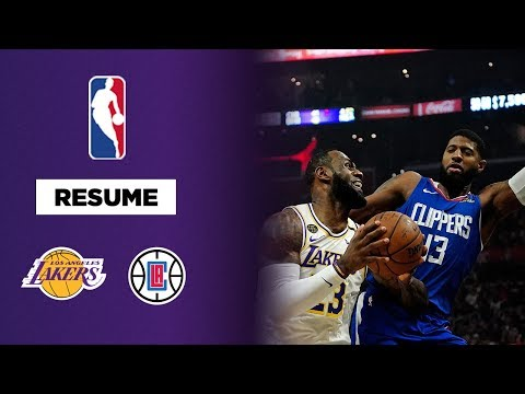 NBA : Les Lakers remportent la bataille de Los Angeles