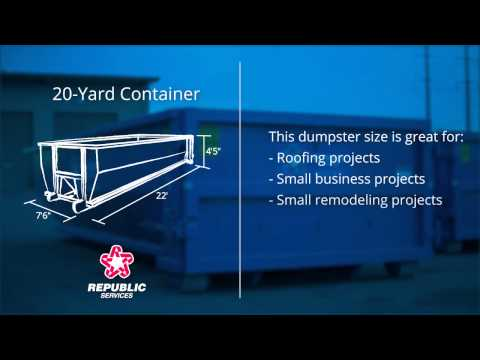 How to Choose the Right Dumpster Container - Republic Services