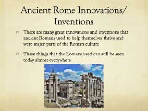 ancient rome's world advances essay If i lived in ancient rome if i lived in ancient rome instead of america today, life would be very different in rome there was a lot of different races and cultures.