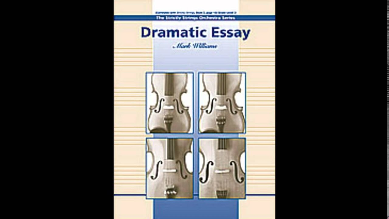 dramatic essay by mark williams audio