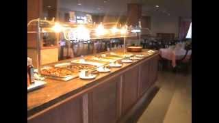 buffet foods in grupotel majorca spain.mpg