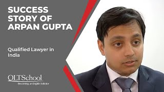 Success Story of Arpan Gupta - QLTS School's Former Candidate