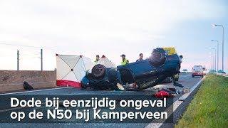 Dodelijk ongeval op de N50 bij Kamperveen - ©StefanVerkerk.nl