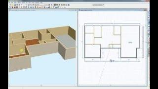 Дизайн интерьера Chief Architect Premier - Видеоурок по моделированию первого этажа и стен