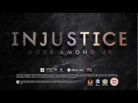 Injustice: Gods Among Us Official Gameplay Trailer (Comic Con 2012)