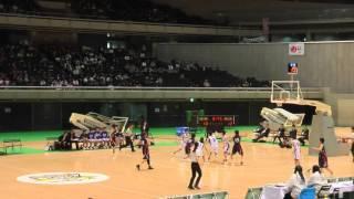 2016 女子決勝 埼玉vs長崎 2Q1 ジュニアオールスター 中学バスケ