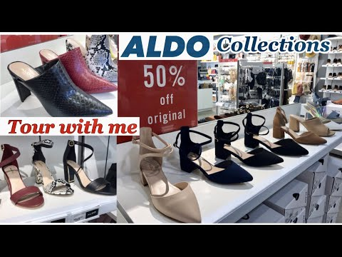 NEW FINDS ALDO WOMEN'S HANDBAGS AND SHOES COLLECTIONS | TOUR WITH ME!