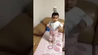Funny baby dance ghomar ghomar song