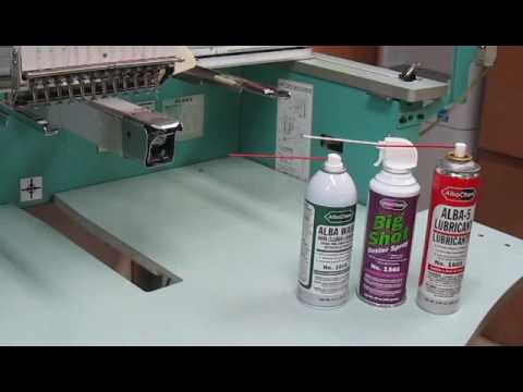 How to Clean Embroidery Machine Rotary Hooks with Alba Wash