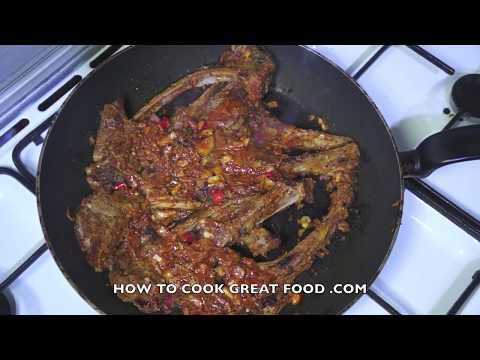 Spicy Lamb Chops Recipe - Easy Lamb Chops - Skillet Lamb Chops - How To Cook Lamb Chops