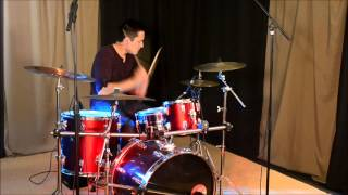 Jordan KO-Uptown Funk-Mark Ronson(Feat Bruno Mars)-Drum Cover