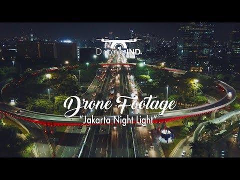 Drone Footage - Jakarta Night Light | DroneIND