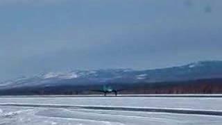 Buffalo Airways C-46 Takeoff
