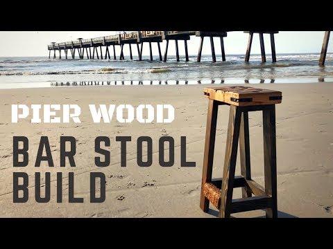 How To Build a Rustic Bar Stool DIY