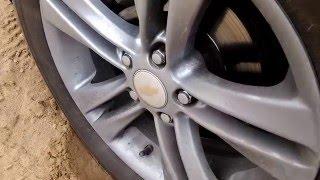 Скрип колеса при повороте руля Chevrolet Cruze
