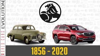 W.C.E.-Holden Evolution (1856 - 2020)
