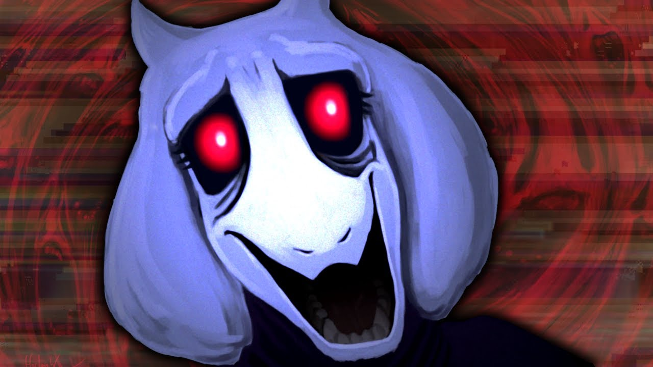 UNDERTALE HORROR TORIEL BECAME SCARY AND INSANE