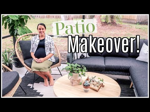 OUR PATIO MAKEOVER | Summer Entertaining | Article Outdoor Furniture