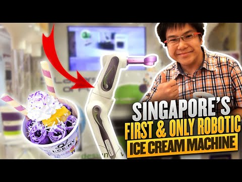 Robofusion: Singapore's First and Only Robotic Ice Cream Machine