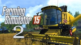 Let's Play Farming Simulator 15 - Part 2 - Chainsaw