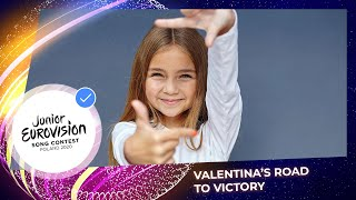 Valentina's road to victory 🇫🇷 - Junior Eurovision 2020