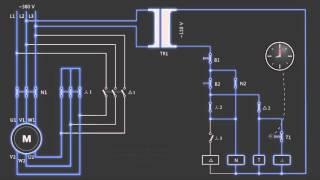 видео Электросхема запуска двигателя. Электрическая схема запуска двигателя внутреннего сгорания