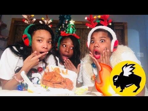 CHRISTMAS EDITION TO THE BLAZIN BUFFALO WING CHALLENGE