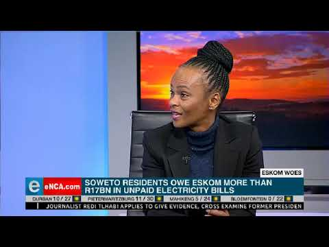 Soweto residents owe Eskom more than R17bn