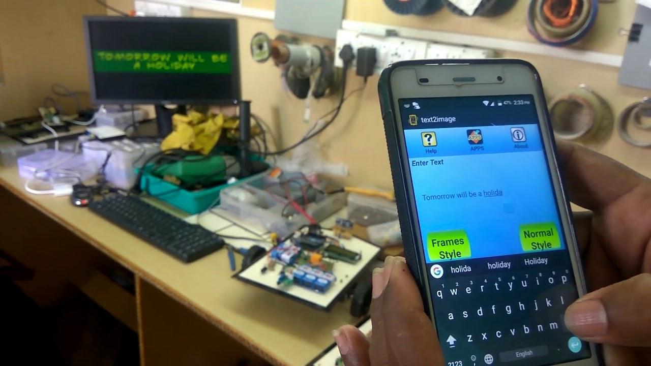 Raspberry Pi based WiFi Digital Notice Board using LED Monitor